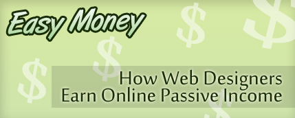 Passive Income from Web Design and Banner Ads